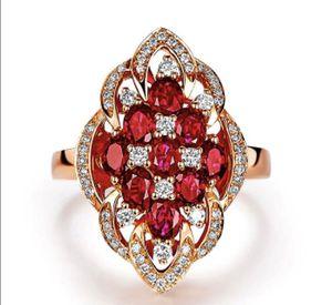 New 18 k rose gold wedding ring set engagement ring for Sale in Orlando, FL