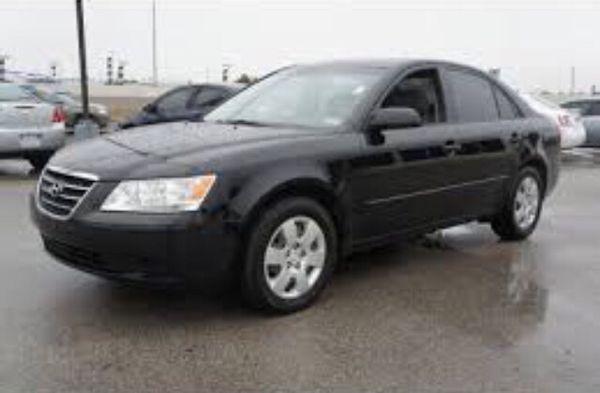 Hyundai Sonata Gls 2009 Black