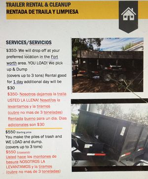 New and Used Dump trailers for Sale in Dallas, TX - OfferUp