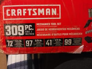 Craftsman professional mechanics tool set for Sale in Mesquite, TX