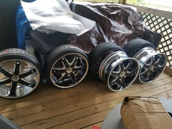 Diablo Fury Wheels 24 Inch With Tires Cars Amp Trucks In Round Rock Tx Offerup