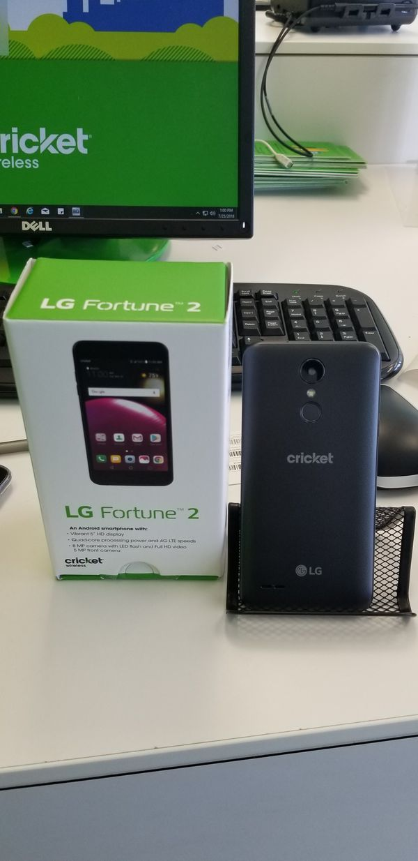 LG X Charge- Cricket Wireless