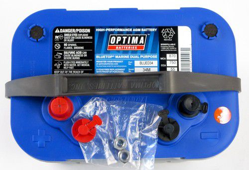 Optima Blue Top >> Brand New D34 Blue Top Optima Deep Cycle Battery For Sale In San