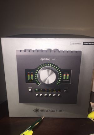Apollo twin Audio interface for Sale in Cleveland, OH