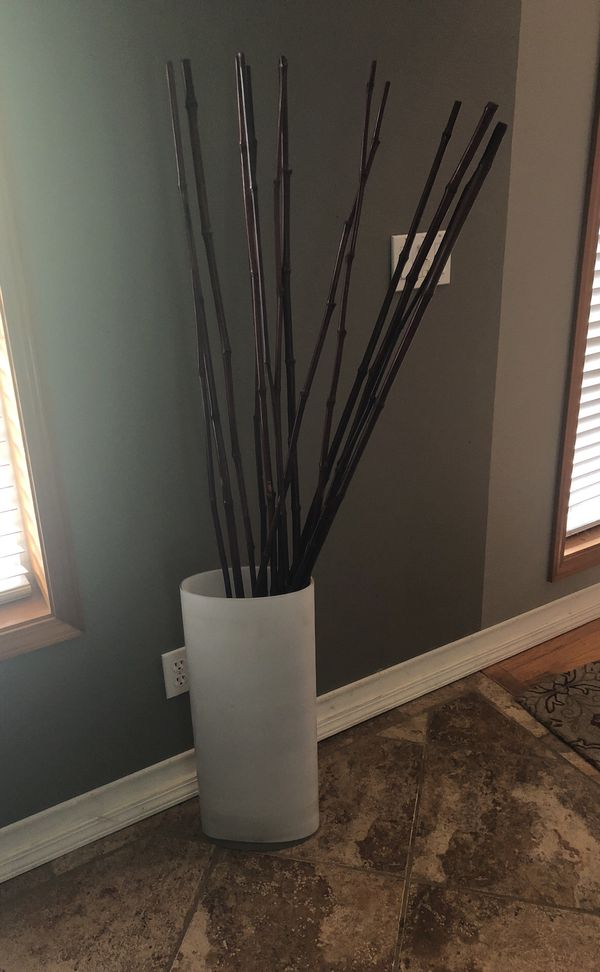 Vase With Twigs For Sale In Edgewood Wa Offerup