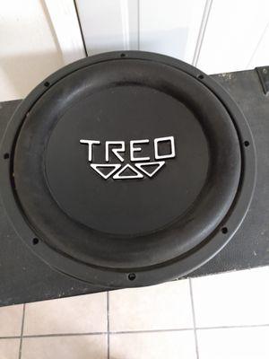 Photo Speaker Treo engineering competition subwoofer Rare Solo es una-- área de oildale