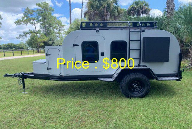 Photo 2018 Teardrop Overland Off Road Camping Trailer 18 ft. $800