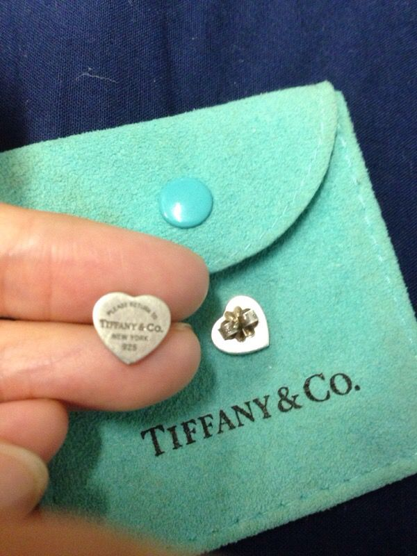 Return To Tiffany Mini Heart Tag Earrings Jewelry Accessories In Hayward Ca Offerup