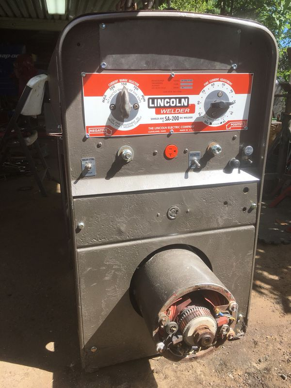 Lincoln SA 200 RedFace Welder For Sale In Texas City TX OfferUp
