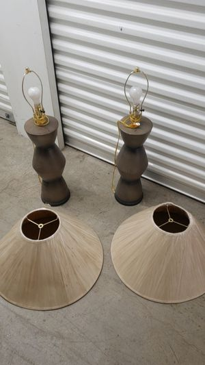 2 Lamps for Sale in Austell, GA