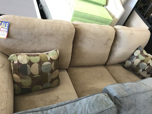 Living Room Set With Super Soft Special Upholstery For Sale In