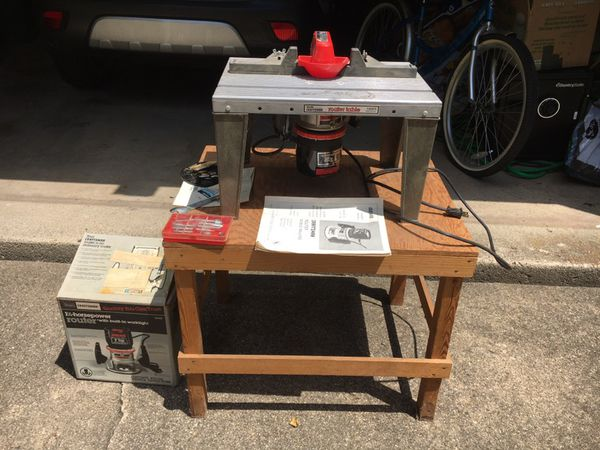 Craftsman Router Table Work Stand Bitanuals For In Centerville Oh Offerup