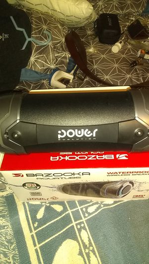 Bazooka Aquatube waterless Bluetooth speaker for Sale in Saint Cloud, FL
