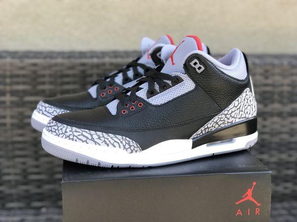 best cheap b2ee5 17839 Nike Air Jordan Retro III 3 OG BLACK CEMENT 2018 DS Sz 11 for Sale in Santa  Clara, CA - OfferUp