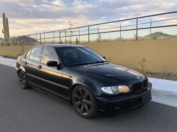 2004 Bmw 330i Zhp E46 Black Great Driver M3 Sedan Auto Cheap Daily For Sale Or For Trade Bmw Bimmer For Sale In Scottsdale Az Offerup