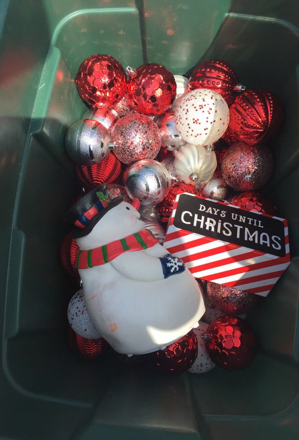 christmas ornaments decor box 20 for sale in san diego ca offerup - Christmas Decorations San Diego