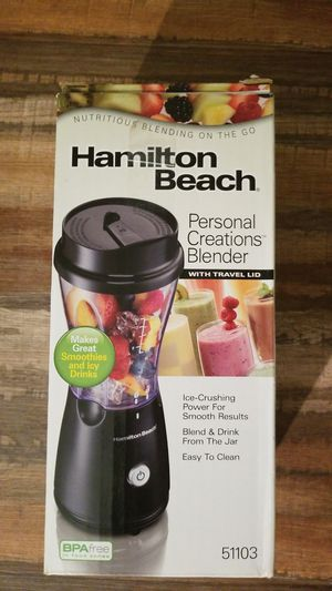 Never Used Hamilton Beach Blender Travel Cup for Sale in Fort Worth, TX