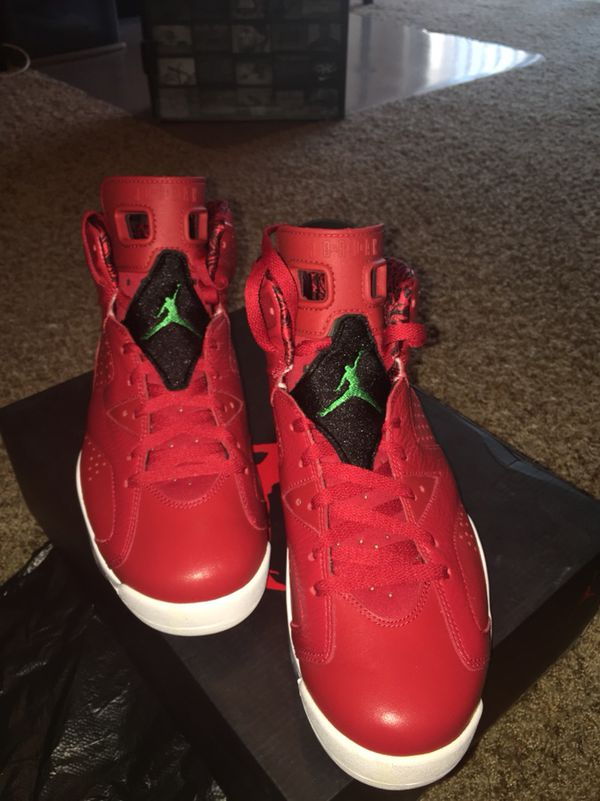 bb0f3e13f945e3 AIR JORDAN 6 RETRO SPIZIKE RED for Sale in Murray