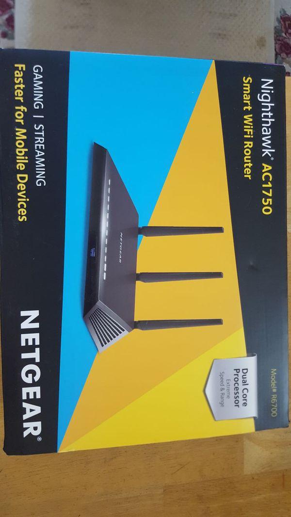 Netgear Nighthawk AC1750 R6700v2 Wi-Fi Router for Sale in Elk Grove, CA -  OfferUp