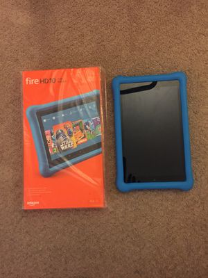 Brand new in the box Amazon kids kindle 10 HD 32 GB including two cases extra rapid chargers $150 for Sale in Silver Spring, MD