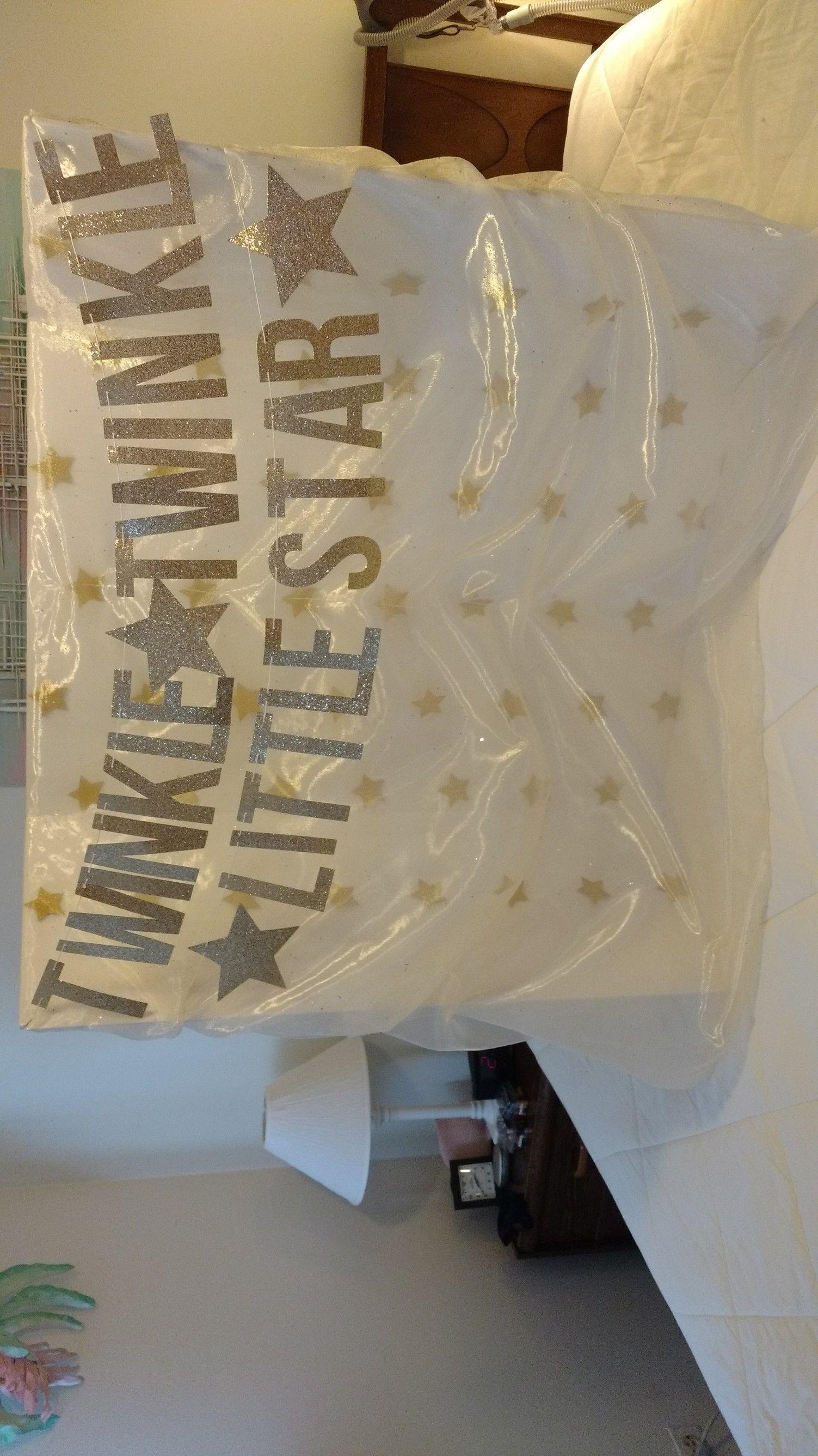 Twinkle Twinkle Little Star center piece or banner