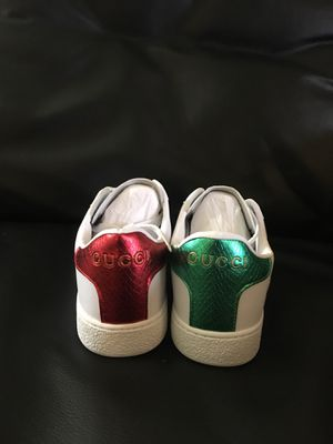 Gucci women's size 6 1/2 shoes men's Nike Air Force One supreme's size 9 for Sale in Washington, DC