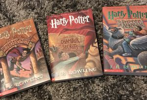 New first 3 Harry Potter books for Sale in Placentia, CA