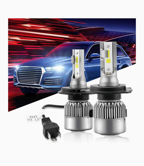 New In Box H4 Led Headlight Bulb  8000lm Extremely Bright