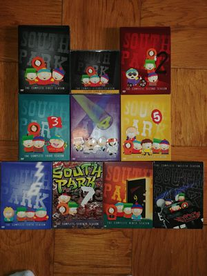 South Park 9 seasons on DVD for Sale in Lincolnia, VA