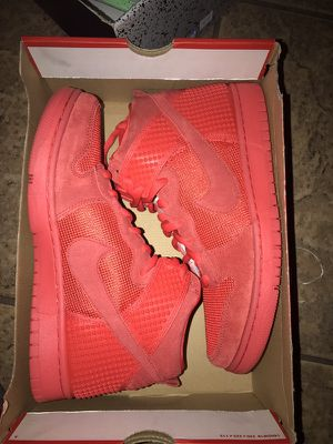 Nike Dunk High Red October All Red for Sale in Phoenix, AZ