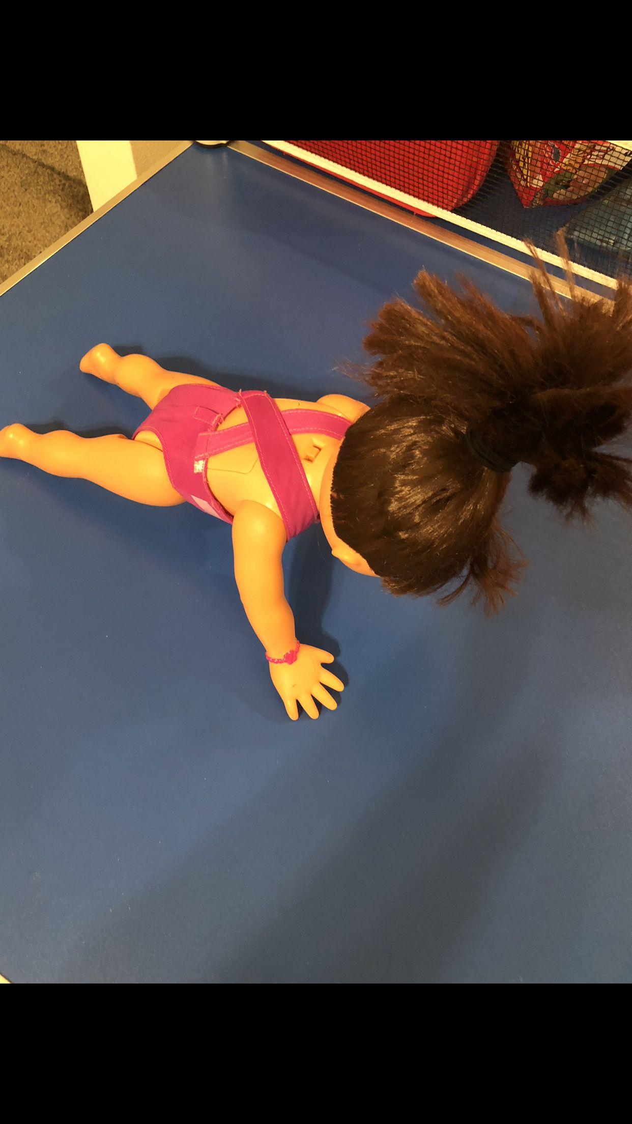 Dora the Explorer Fantastic Gymnastics Doll and Items