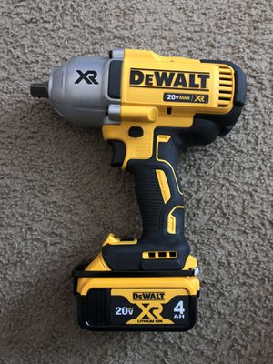 DeWalt DCF899 1/2 impact wrench Brushless motor (TOOL AND BATTERY) for Sale in Kissimmee, FL