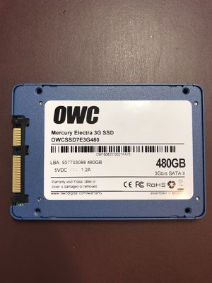 OWC mercury electra 3g SSD 480gb SATA II for Sale in Philadelphia, PA