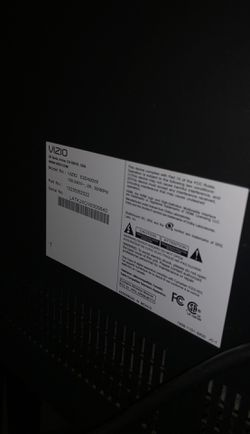 "Vizio flat screen tv 40"" Thumbnail"