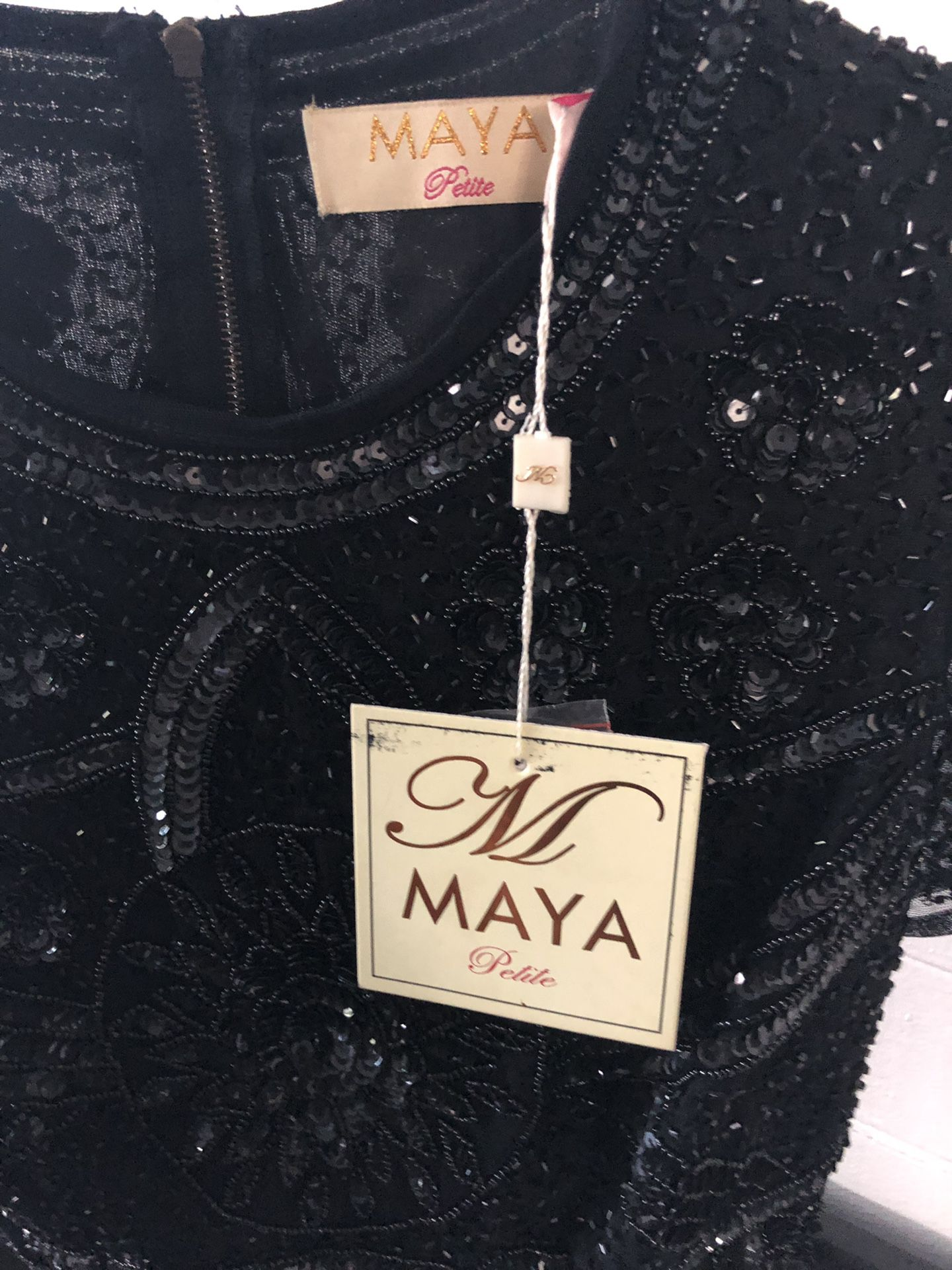 Maya petite crop blouse
