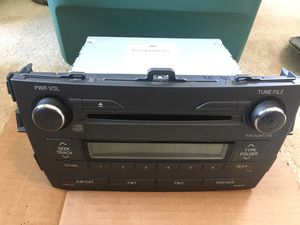 Toyota Corolla radio for Sale in Germantown, MD