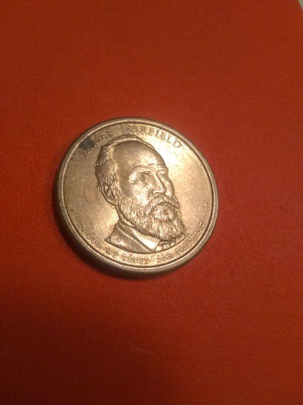 Una 1 Dollar De año 1881 Pueden Ofrecer Okey Grasias
