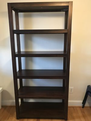 5-Shelf Wooden Shelf/Display for Sale in Alexandria, VA