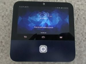 ZTE S Pro to 5 in touch screen 720 p cellular smart projector AT&T 4G LTE for Sale in Washington, DC
