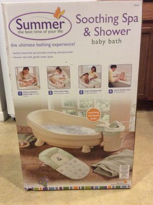 Summer Soothing Spa & Shower Baby Bath for Sale in Watsonville, CA ...