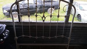 Photo Antique Headboard fits full or queen