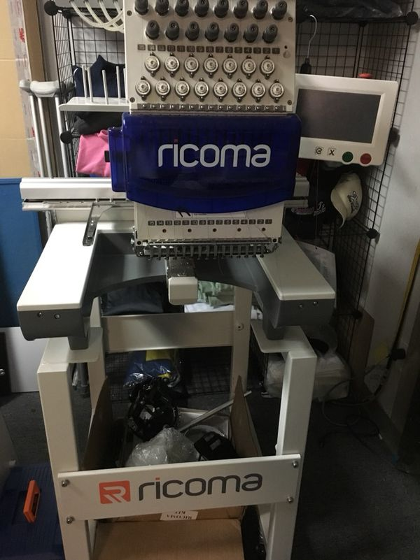 Embroidery Machine Rocima Tc Series For Sale In Arlington Tx Offerup