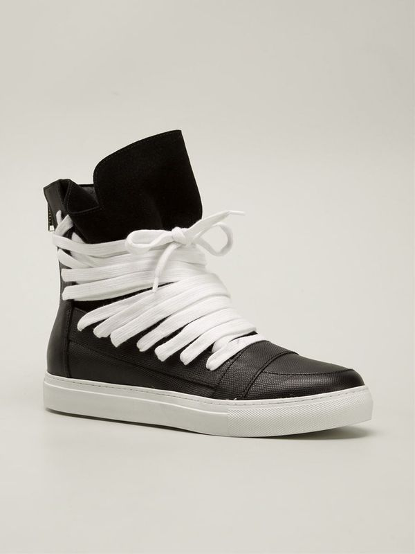 Kris Van Assche Hi- Top Multi-lace Sneaker for Sale in Boston 9b336d59c