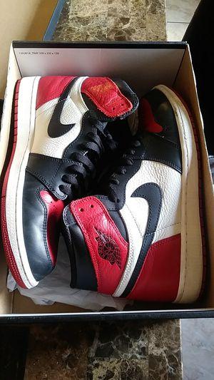 Jordan 1 Bred toe for Sale in Phoenix, AZ