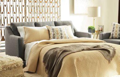 Daylon Graphite Queggen Sofa Sleeper   42304 Thumbnail