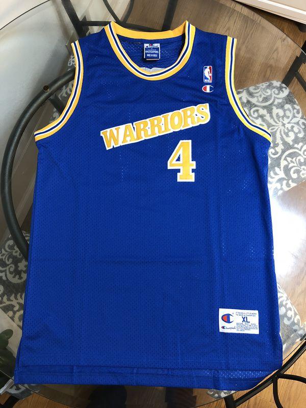 brand new 99478 cd220 Golden State Warriors Chris Webber jersey sz XL for Sale in Sunnyvale, CA -  OfferUp