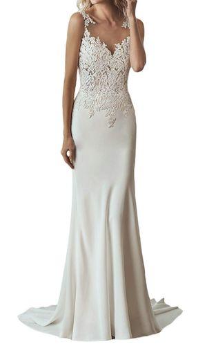 Brand new, never worn wedding dress Size 12 for Sale in Midlothian, VA