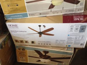 Home decorators collection 68 inch Altura great room ceiling fan for Sale in Phoenix, AZ