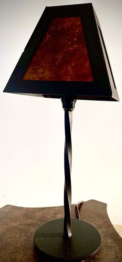 Small Decorative reading table lamp H15xW6 inch Lbs 1.9 Thumbnail