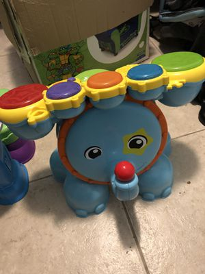 Elephant drum set for Sale in Deltona, FL